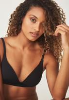 Cotton On - Wirefree everyday T-shirt bra - black