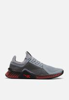 Reebok - Flashfilm train - powder grey/black/radiant red