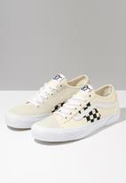 Vans - Vans UA bess ni - (check) classic white/true white