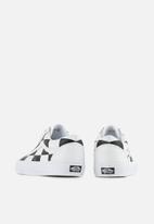 Vans - Vans UA old skool - (leather check) true white & black