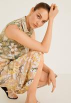 MANGO - Vintage sleeveless shirt - multi