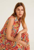 MANGO - Teresa sleeveless dress - multi