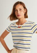 MANGO - T-shirt mangora - multi