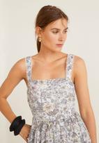 MANGO - Back bow dress - multi