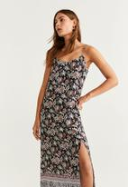 MANGO - Flower print dress - multi