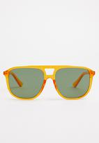 Superbalist - Dane sunglasses - yellow