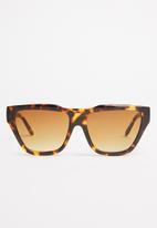Superbalist - Cheryl rectangular sunglasses - brown