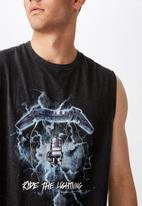 Factorie - Metallica shock license tank - black
