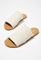 Cotton On - Cleo minimal slide - white