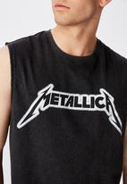 Factorie - Metallica license tank - black