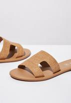 Cotton On - Everyday cypress slide - neutral