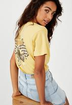 Cotton On - Classic vintage T-shirt bike week - yellow