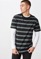 Factorie - Stripe T-shirt - multi