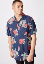 Factorie - Resort shirt - blue