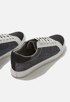 Cotton On - Ally low rise - black & grey