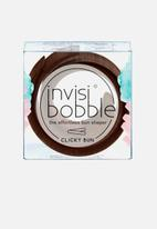 Invisibobble - Clicky bun - pretzel brown