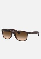 Ray-Ban - Andy sunglasses 55mm - matte brown
