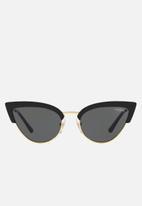 Vogue - Vogue-VO5212S cat eye 55mm- Black & Gold