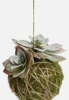 Silk By Design - Succulent arrangement