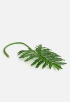 Silk By Design - Selloum leaf - green