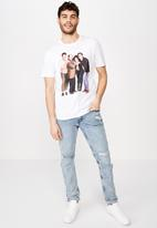 Cotton On - Seinfeld - standing collab T-shirt - white