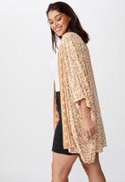 Cotton On - Curve wanderlust kimono - multi