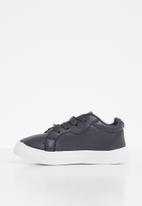 SOVIET -  Issey low cut casual lace ups - navy
