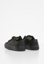 SOVIET - K viper pu vulcanized low cut lace up - black