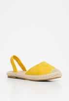 Superbalist - Mamello espadrille - yellow