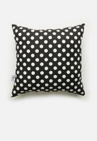 Sixth Floor - Easy peasy cushion cover - black & white