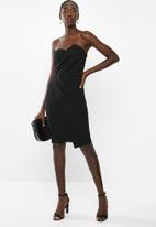 Sissy Boy - Must be love midi dress - black