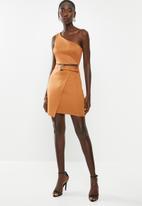 Sissy Boy - Gimme a mini dress - brown