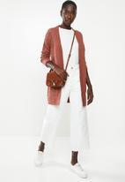 Vero Moda - Mesme open cardigan - rust