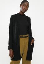 Vero Moda - Mesme open cardigan - black