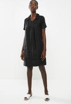 AMANDA LAIRD CHERRY - Thando tunic - black