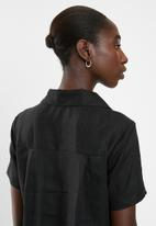 AMANDA LAIRD CHERRY - Thando tunic - black