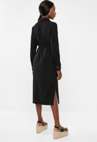 Vero Moda - Cleo calf dress - black