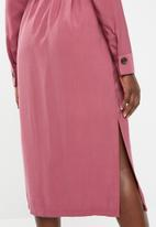 Vero Moda - Cleo calf dress - pink