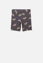 Cotton On - Hailey short - grey & rose gold