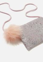 Cotton On - Ashley party bag -  silver & pink