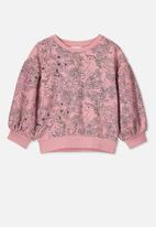 Cotton On - Sophie slouch crew - pink