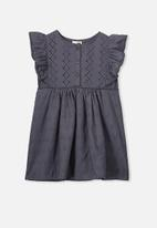 Cotton On - Goldie sleeveless dress - charcoal