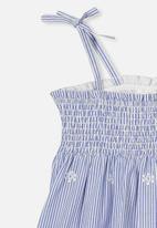 Cotton On - Lily mae sleeveless dress - blue