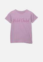 Cotton On - Penelope short sleeve tee - purple