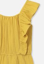 Cotton On - Kieri playsuit - yellow