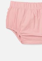 Cotton On - Stella ruffle bloomers - pink