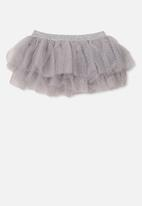 Cotton On - Florence tulle skirt - grey