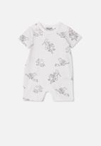 Cotton On - The short sleeve romper - white