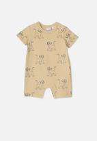 Cotton On - The short sleeve romper - yellow