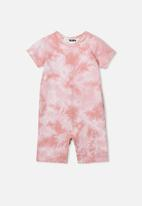Cotton On - The short sleeve romper - pink